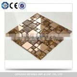 Quality Guarantee Bathroom Wall / Floor Usage Glass Mosaic Tile                                                                         Quality Choice