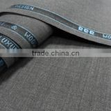 Superfine quality Italia design worsted wool suiting fabric                                                                         Quality Choice