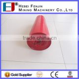Highly Durable Steel Troughing Conveyor Belt Idler Roller With SKF Bearing