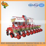 8 row no till Precision pneumatic garlic planting seeder machine for various land