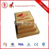 square cardboard pizza carton craft paper box paper meal box                                                                         Quality Choice