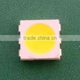 5050 SMD LED light-emitting diode white light warm Bai Baiguang highlight general three-chip light