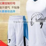 Basketball suit male basketball clothing custom summer women training uniforms sportswear DIY printing printing,