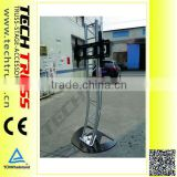 New design portable aluminum TV/LED hanging stand