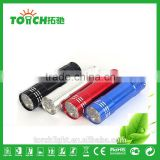 3 pcs AAA Battery Bulk 9 LED Flashlight Pocket Aluminum Ultra Bright Mini Led Flashlight