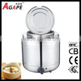 10L Electric Soup Warmer Electric Soup Cooker Stainless Steel Buffet Soup Warmer Pot
