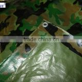 damp-proof camo tarp&pe tarpaulin for camouflage camping tent&good quality tarpaulin with PP film