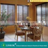 Wholesale OEM wood blinds high quality wooden window louver