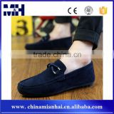 China Wholesale New Suede Men Shoes Casual Velvet Loafers