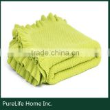 SZPLH SEDEX Factory exquisite comfortable best cable knit blanket