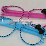 2012 new design plastic glasses pen for promotion