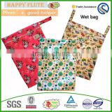Happy flute Polyester Material Diaper Wet Bag baby diaper bags brand wholesale diaper bags bulk buy from china                                                                         Quality Choice