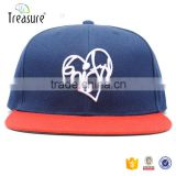 China supplier best quality hand design hot sale flat brim 6 panel custom snap back hats                                                                                                         Supplier's Choice