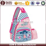 Polyester Trigonal Kids Shoulder Side Bag