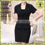 Classic black skirt or pants women suits