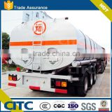 30cbm 35cbm 40cbm 3 axles heated bitumen semi trailer Liquid asphalt tanker trailers for sale