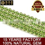 Natural gem scattered beads manufacturers wholesale olivine loose beads semi finished fashion jewelry DIY handmade jewelry