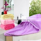 Top 10 Towel manufacturers quick dry microfiber hair turban wraps towel for hair drying after bath hair towel