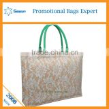 Wholesae jute bag prices cheaply small jute bag jute tote bag
