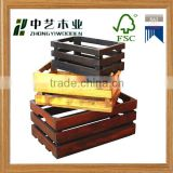 cheap used wooden wine crates wholesale wooden wine rack carved wooden wine crate for sale                                                                                                         Supplier's Choice