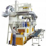 Net belt shot blasting machines