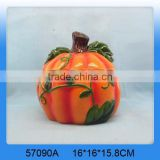 Lovely wholesale ceramic pumpkin cookie jar                                                                         Quality Choice