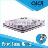 High Class Zero Formaldehyde Natural Coconut Fiber Kingdom Pocket Spring Latex Sponge Bed Mattress