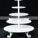 crystal cake stand,hanging crystals cake stand,lighted acrylic cake stand
