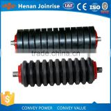 Excellent quality belt conveyor roller,conveyor rubber roller,rubber coated conveyor roller