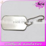2016 Metal decoration cheap dog tag,wholesale dog tag with ball chain,promotional metal dog tag