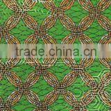 CL7553-(31-36) different golden wax Africa cotton wax Jacquard style holland wax african wax print fashion Guanghzou wax fabric