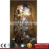 IMARK New Design Modern Oil Painting Pattern Mosaic Mural/Glass Tile Mosaic Mural For Hotel/Cafe House Wall