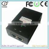 12W 24W 48W 12V 24V 48V 0.5A 1A RoHS, CE and FCC Approved AC or DC Input POE Ethernet Switch