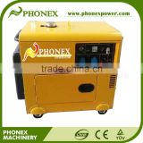 7.5kVA Portable Diesel Generator Small Home Use 7.5kVA Silent Diesel Generator Mobile 7.5kVA Home Generators