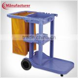 Removable Plastic Cleaning Linen Trolley/Laundry Cart Equipment in Surpermaket & Hospital