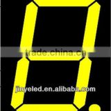 High Brightness led number display 0.6 inch Yellow Light 7 Segment Led Display common anode/cathode single digit led display