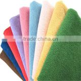 China wholesale towel in hairdressing/gift cheap hot sale plain soft microfiber bath cap
