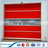 Soft automatic fabric PVC roller shutter door | SEW motor good quality plastic roller shutter door