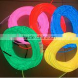 highlighting el flashing wire 2.3mm with many colors 50meter per roll