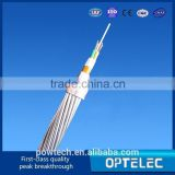 Competitive Price of Long service life Aerial OPGW Outdoor Optic fiber cable with double tube design