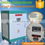 automatic charger and reduction voltage start 5kw pure sine wave inverter with controller