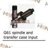 Putzmeister G61 splinded and transfer case input for concrete pump spare parts sany zoomlion cifa junjin ihi