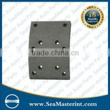 High quality non-asbestos brake lining for HINO OEM No.2310-356310