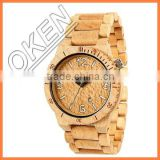 Bamboo Boxes & Cases Material Luxury Bamboo Watch Box Low Moq
