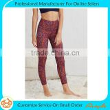 Wholesale custom 2016 latest design compression tights yoga pant for girl running yoga pants for women