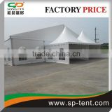 Nature style Elegant mongolian yurt TENTshelter marquee tent with strong aluminium frame 25x40m