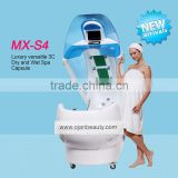 2016 NEW machine sauna for sale hotel bath spa hydrotherapy equipment infrared ozone spa capsule for slimming