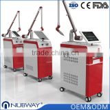 OEM / ODM 1064 nm / 532nm pigment lesions removal new laser for tattoo removal
