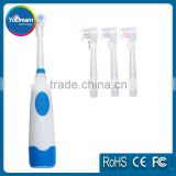 3 Brush head Replace Travel Electrical Electric Toothbrush family pack Round Massage