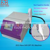IPL laser hair removal including face hair removalHome use portable shr super ipl laser epilation with Fixed slide